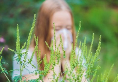 Аллергическая БОМБА под нашими окнами