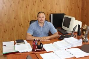 Начальник Усатівського ВМ Біляївського РВ міліції підполковник Мішеченко В. П.