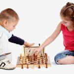 Тренировка в секции шахмат; с. Усатово
