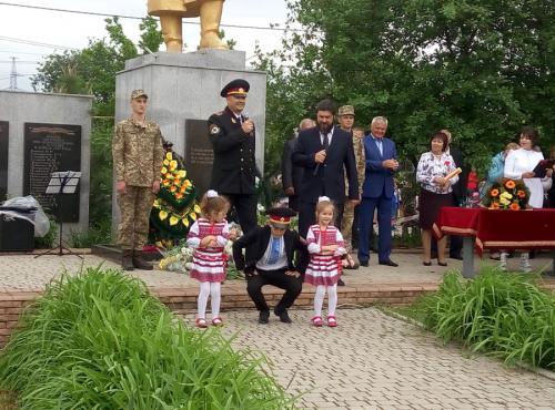 Небога Руслан з дітьми та Пархоменко Дмитро, вокальний номер