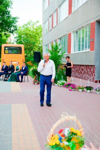 Привітання Усатівського сільського голови Маковейчука Ю.І