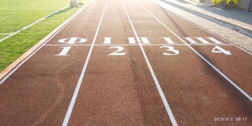 бігова доріжка нового стадіону