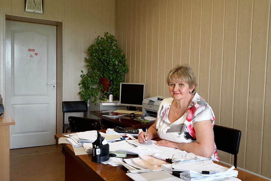 Прушинська Леоніда Францівна - бухгалтер Усатівської сільської ради