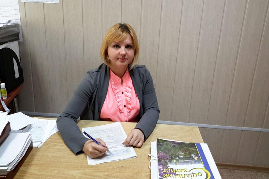 Каплунова Юлія Валеріївна - спеціаліст з питань соціального захисту населення