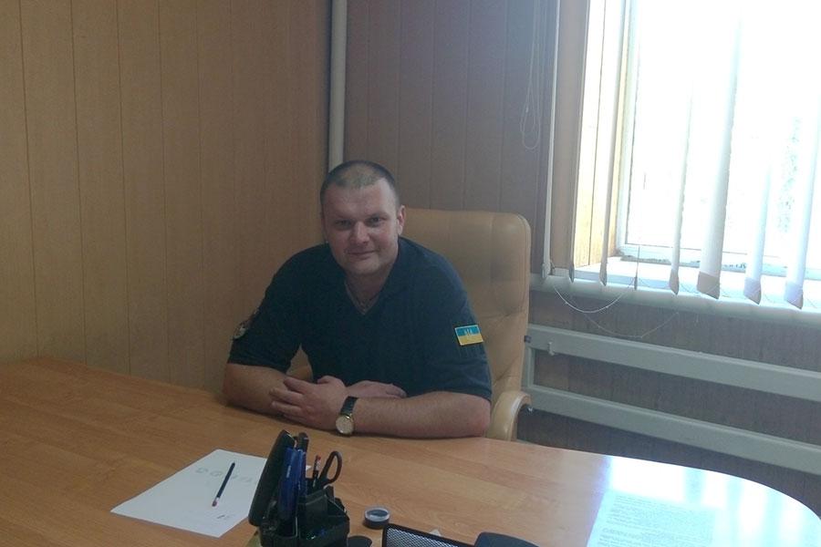 Григор'єв Олег Юрійович - командир громадського формування