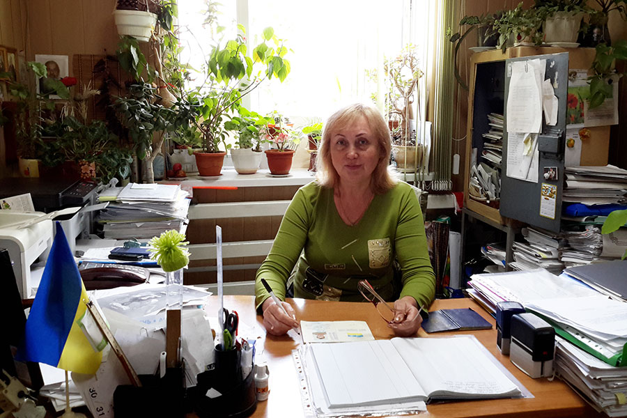 Драгомарецька Ляля Андріївна - секретар Усатівської сільської ради