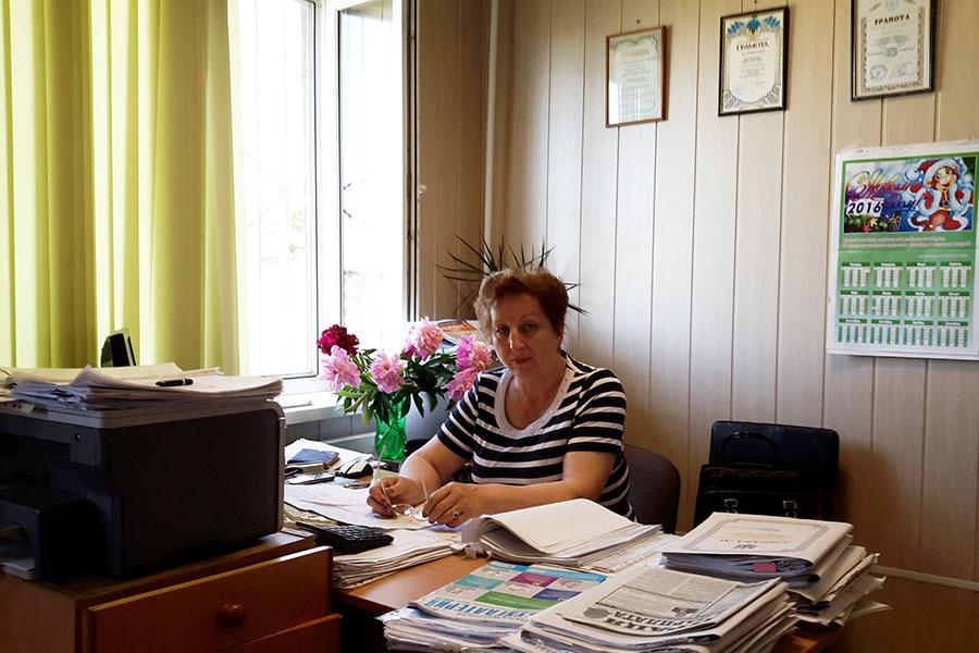 Малоховська Олена Олексіївна - головний бухгалтер Усатівської сільської ради