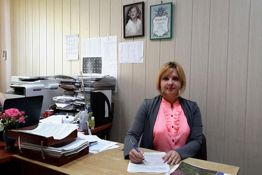 Каплунова Юлія Валеріївна - спеціаліст с питань соціального захисту населення
